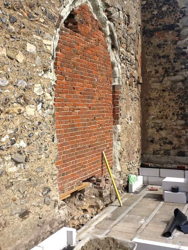 Brickwork to be removed